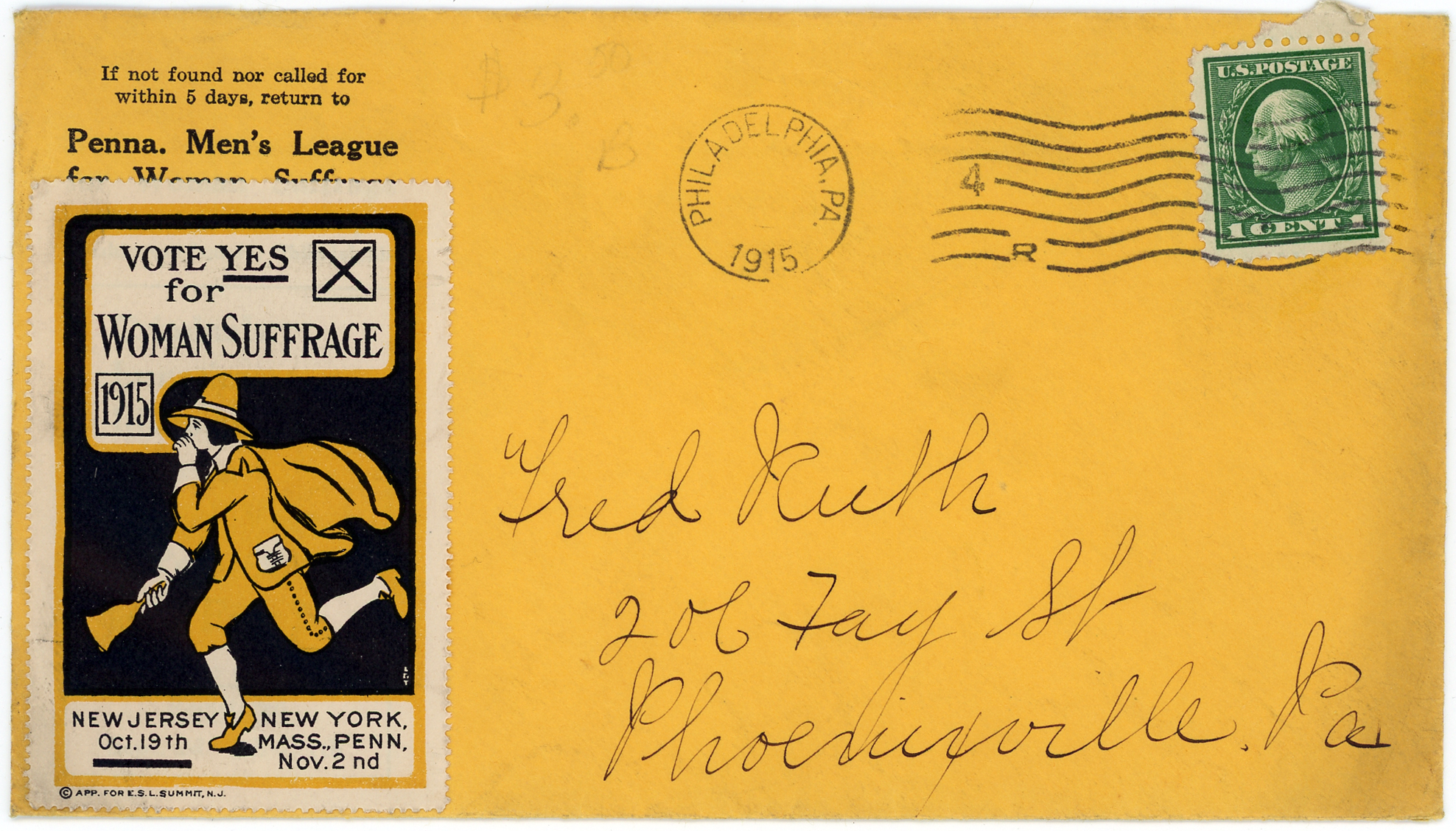 US_misc_historical_351 with envelope